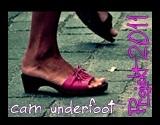 underfoot